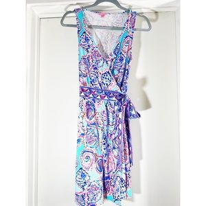 Lilly Pulitzer Meridian Wrap Dress Shell